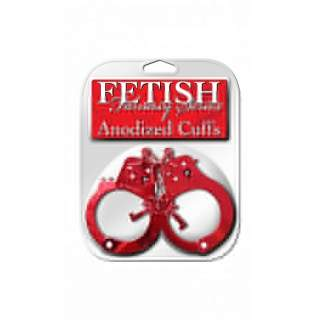 Fetish Anodized Cuffs - RED #