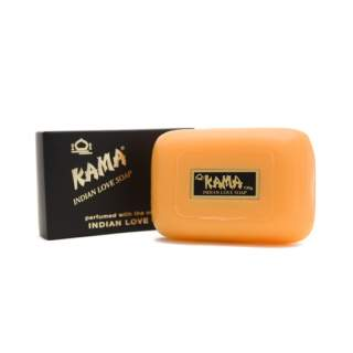 Kama Indian Love Soap is a luxury vegetable based soap.